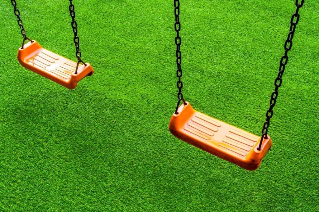 outdoor play ground putting greens